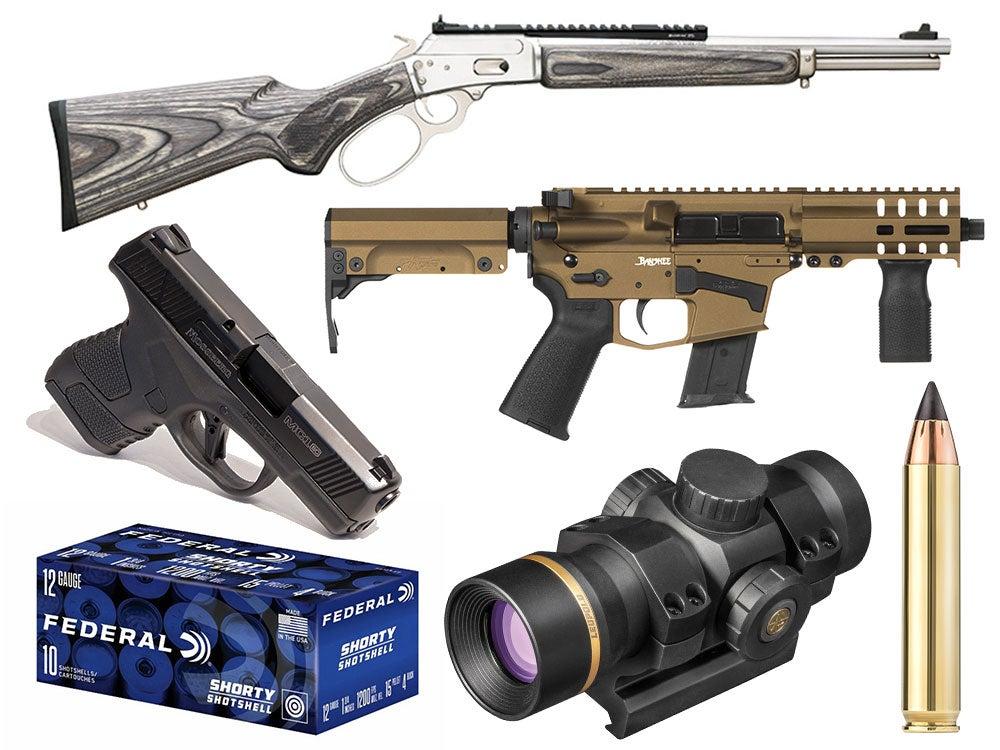 shot show guns and gear