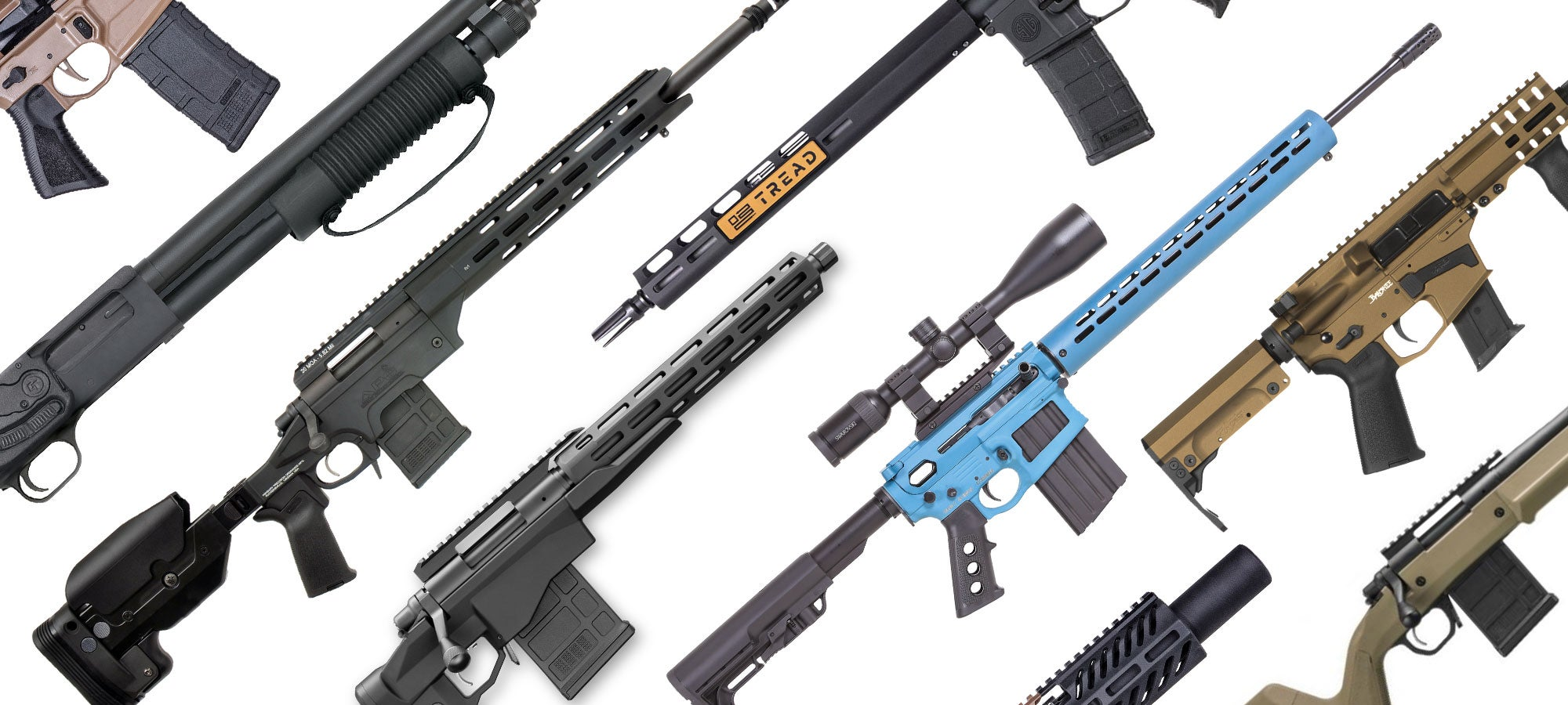 tactical guns shot show
