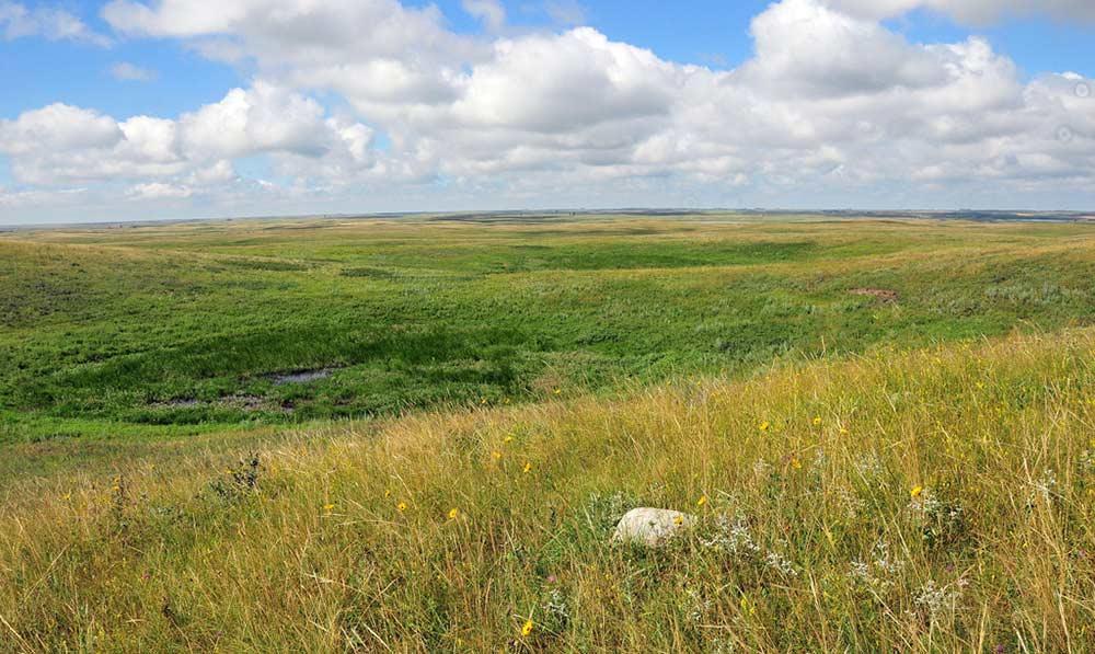 prairie potholes in public lands