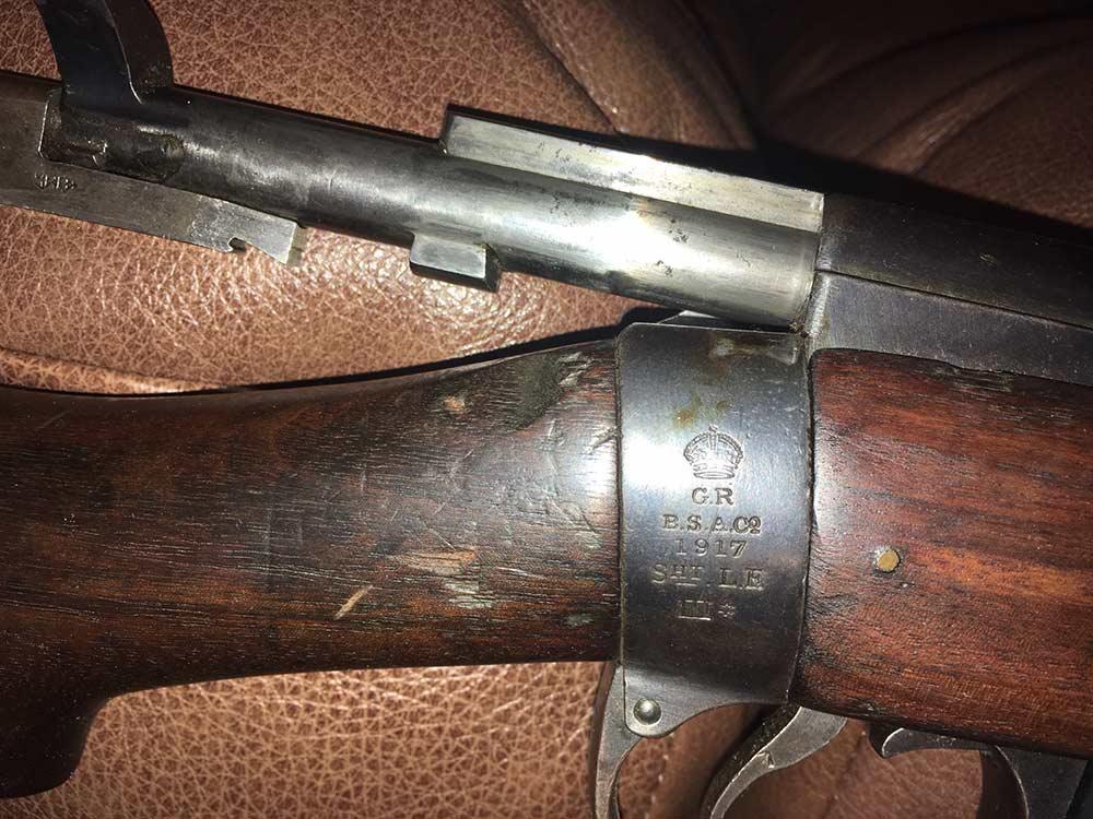 short magazine lee enfield rifle
