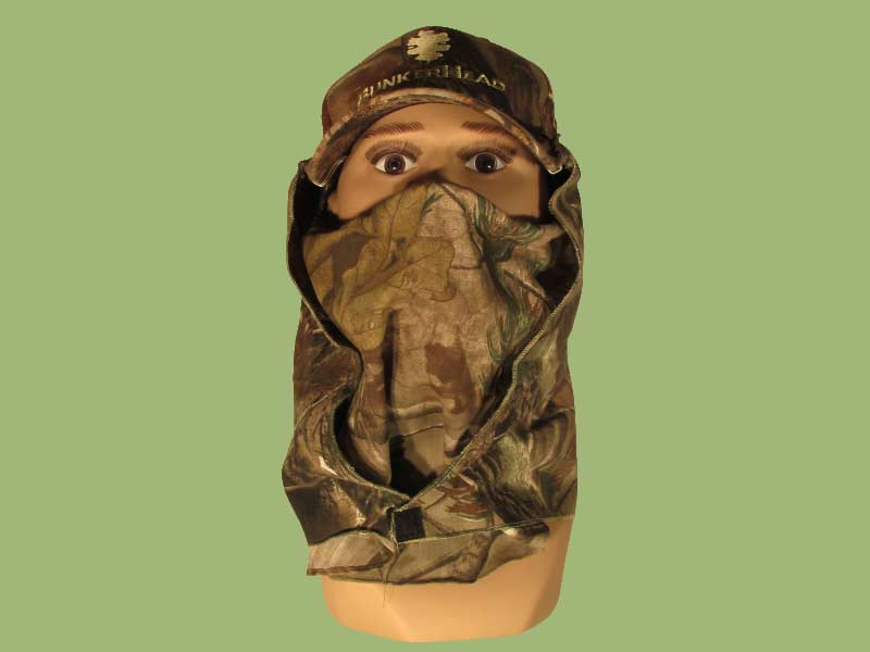 BunkerHead No-Touch Facemask and Hoodie