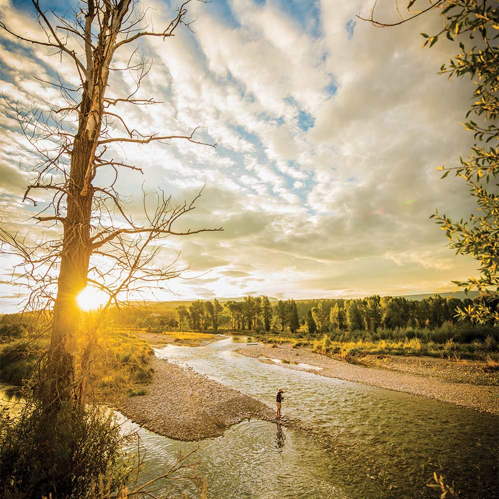 Wyoming's Gros Ventre river