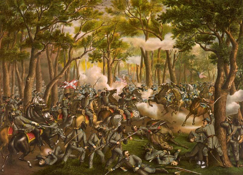 battle wilderness kurz and allison