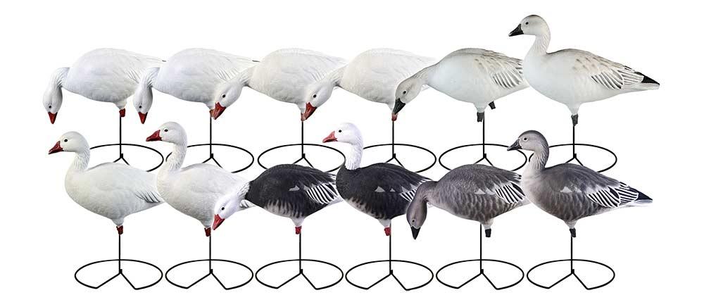 pro grade full body goose decoys