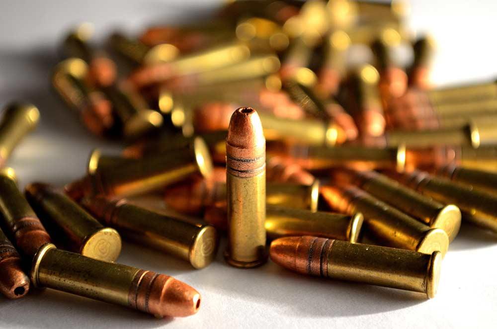22 cartridges ammo
