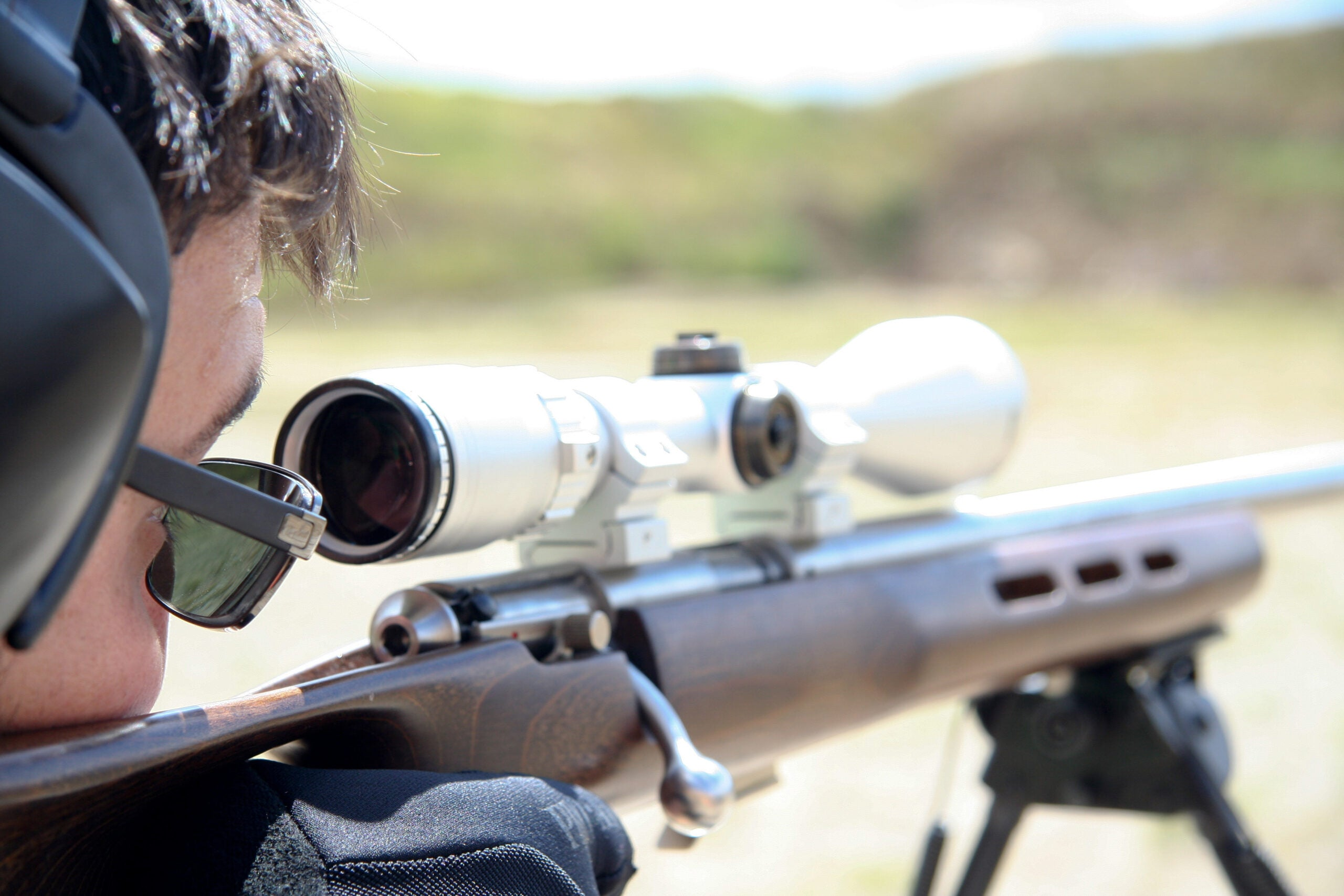 aiming riflescope