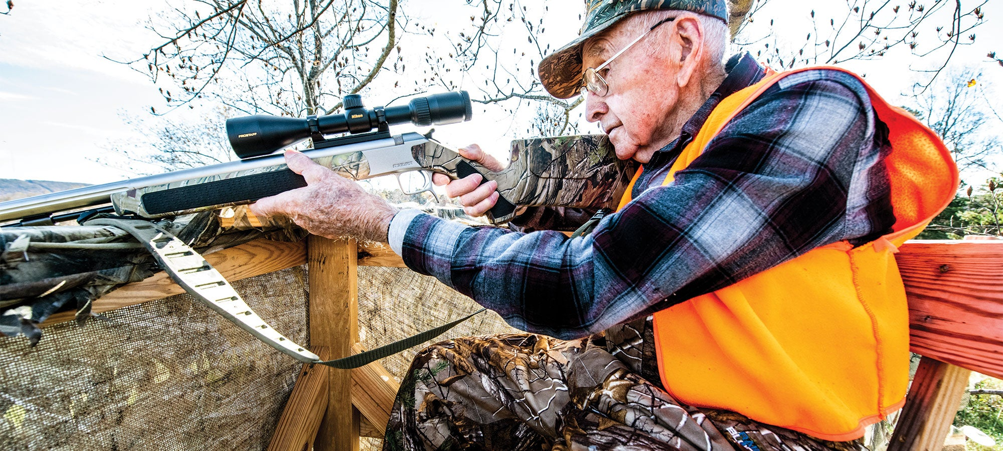 Golden Moments in the Life of America's Oldest Hunter