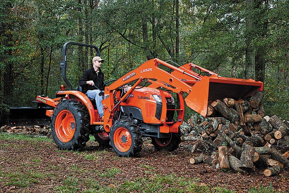 kubota l3301 front loader