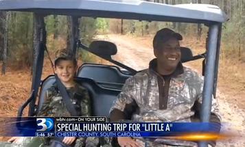 Boy Gets Wish for First Deer Hunt Despite Geographical Mix-Up