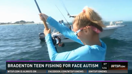 Florida Teen Donates All of Her Fishing Tournament Winnings to Charity