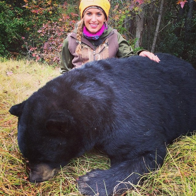 Eva Shockey Responds to Hateful Comments On Bear Hunting Photo