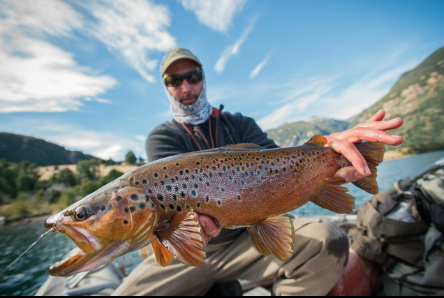 Photos: Big Trout in the Wilds of Chilean Patagonia