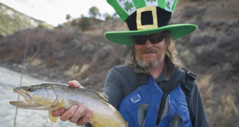 Photos: Early-Season Trout Float