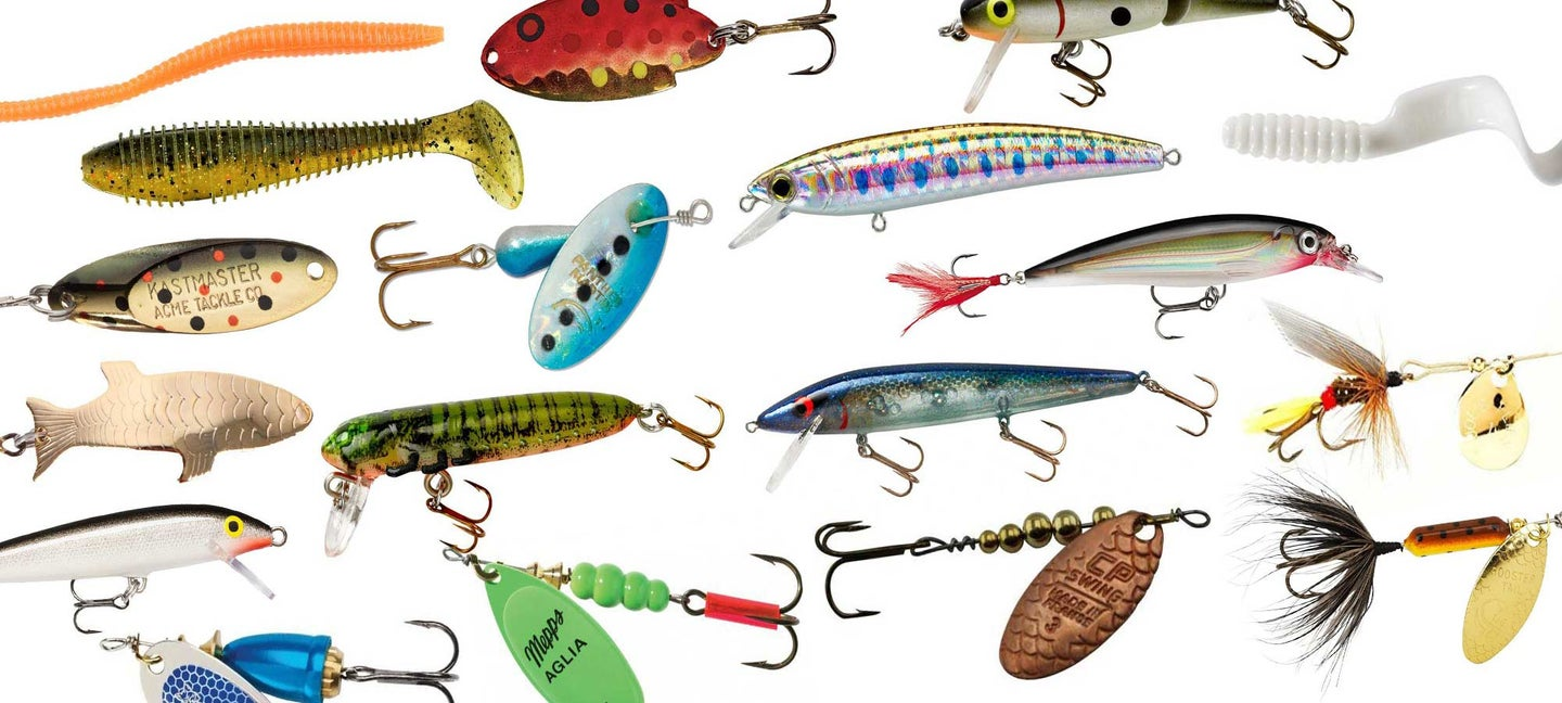 Fishing Lures Metal Spinner Baits Bass Tackle Crankbait Trout Trout Spoon Z8L7
