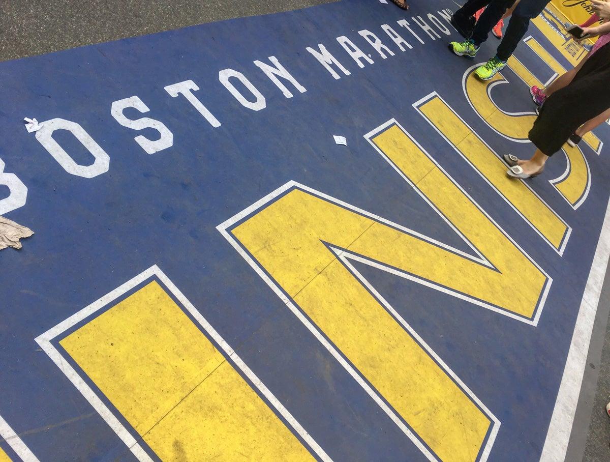 Honor at the Boston Marathon