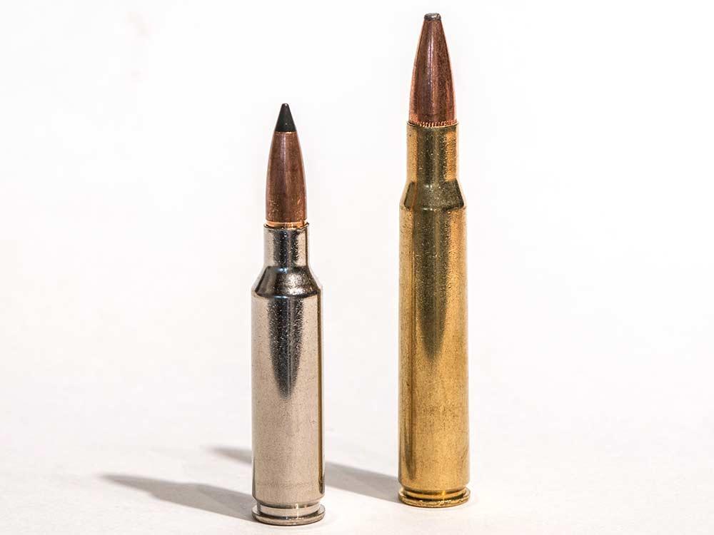 6-5 creedmoor versus the 30.06 ammo