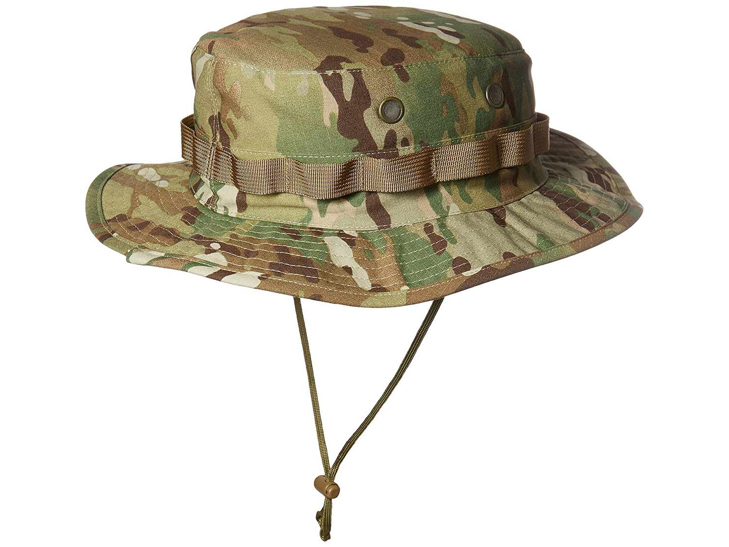a camoflauge boonie hat