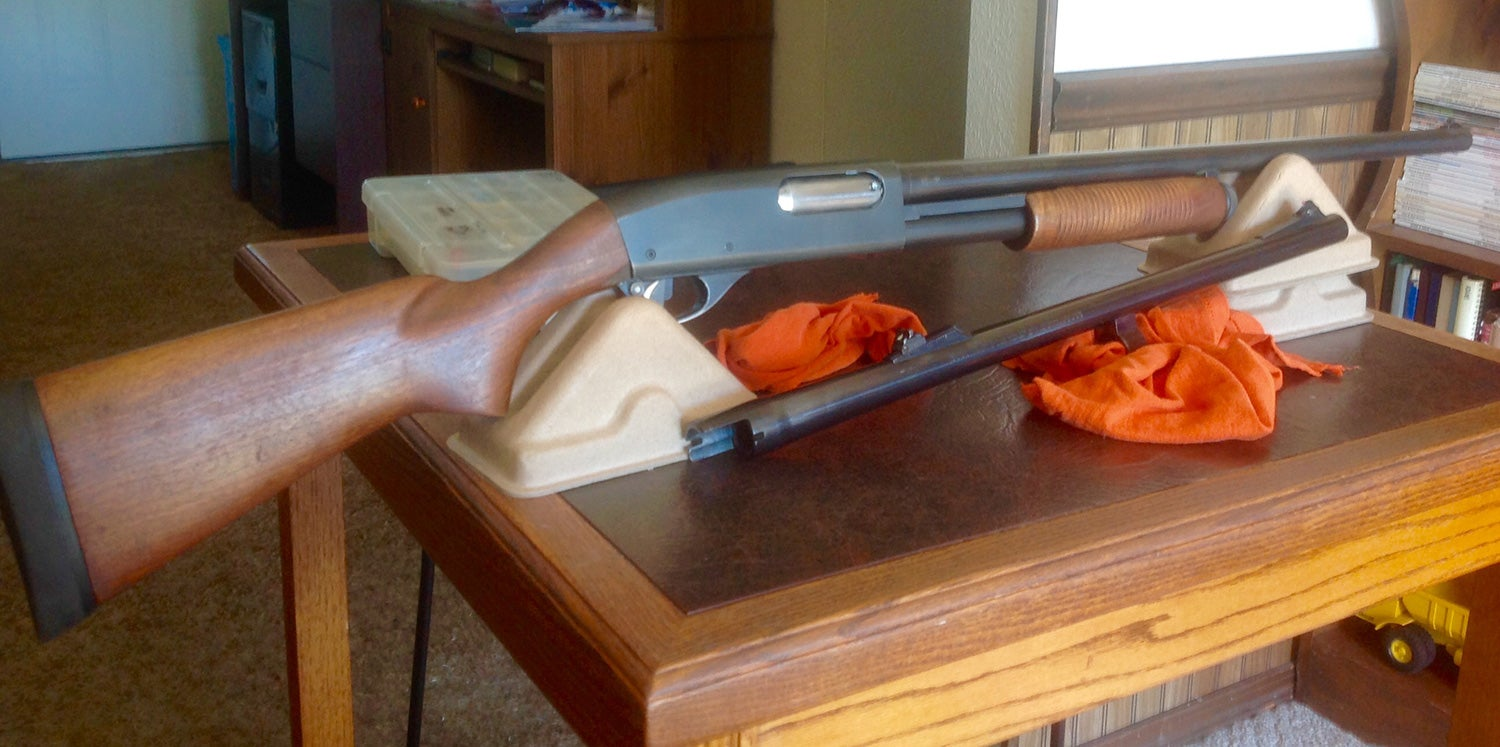 Blast From the Past: Remington 870 AP Wingmaster