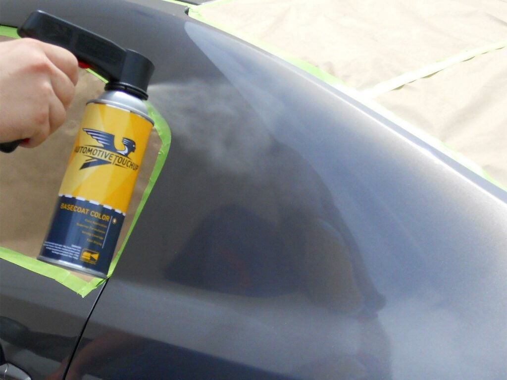 aerosol spray touch up paint