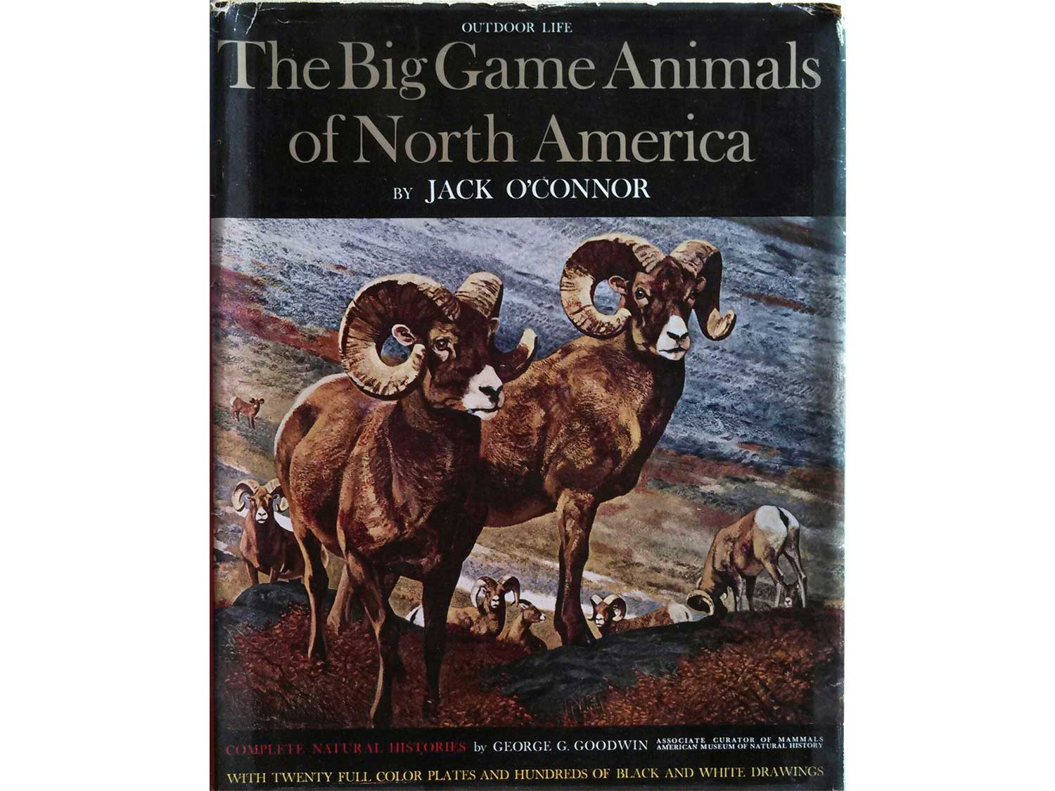 The Big Game Animals of North America, by Jack O'Connor