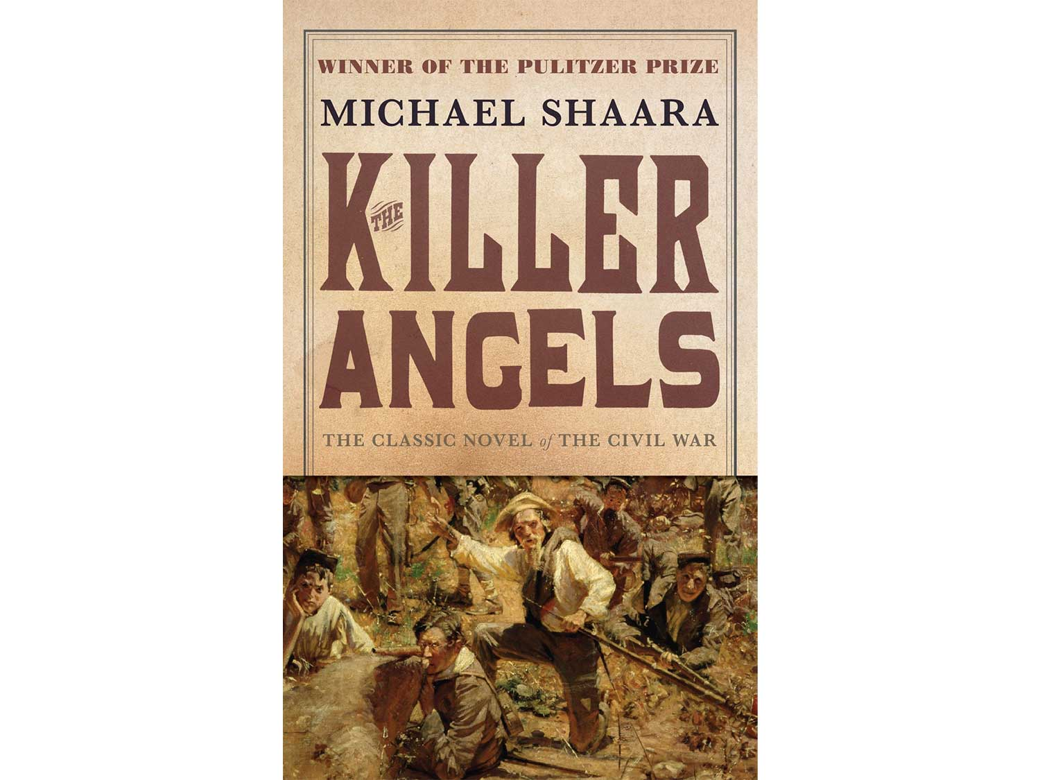 The Killer Angels, by Michael Shaara