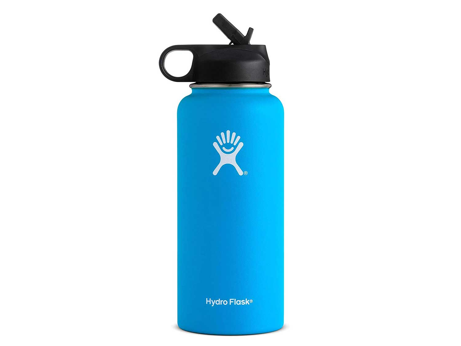 Hydro Flask with Straw Lid