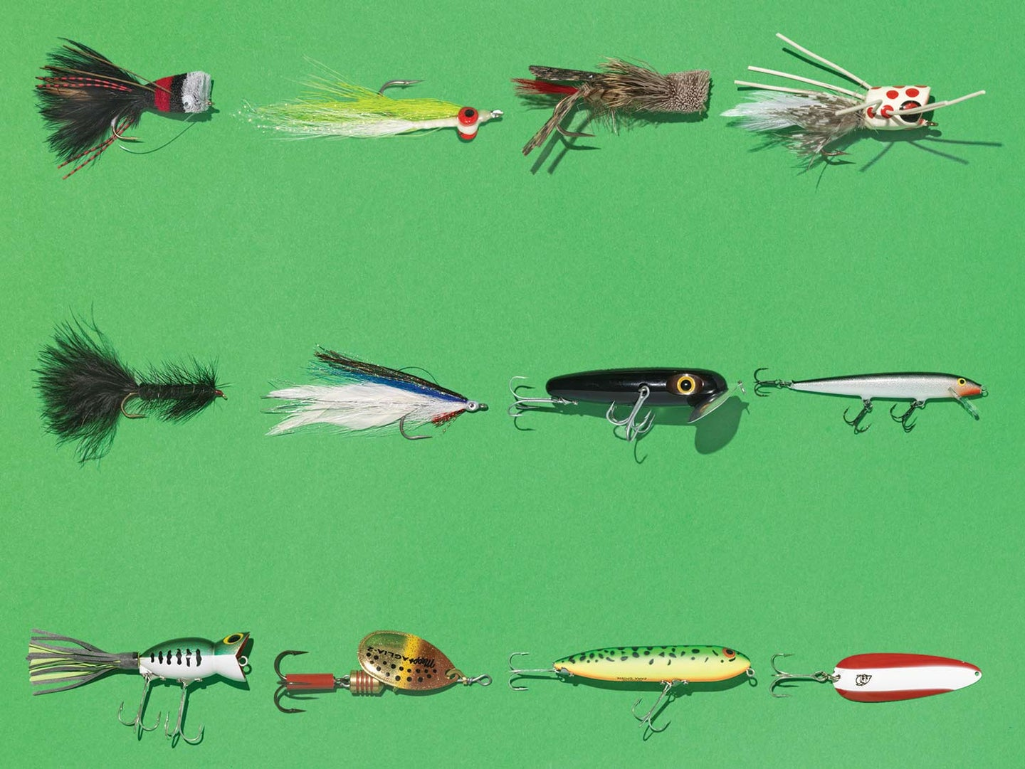 The 12 Most Classic Lures and Flies for Summer Fishing