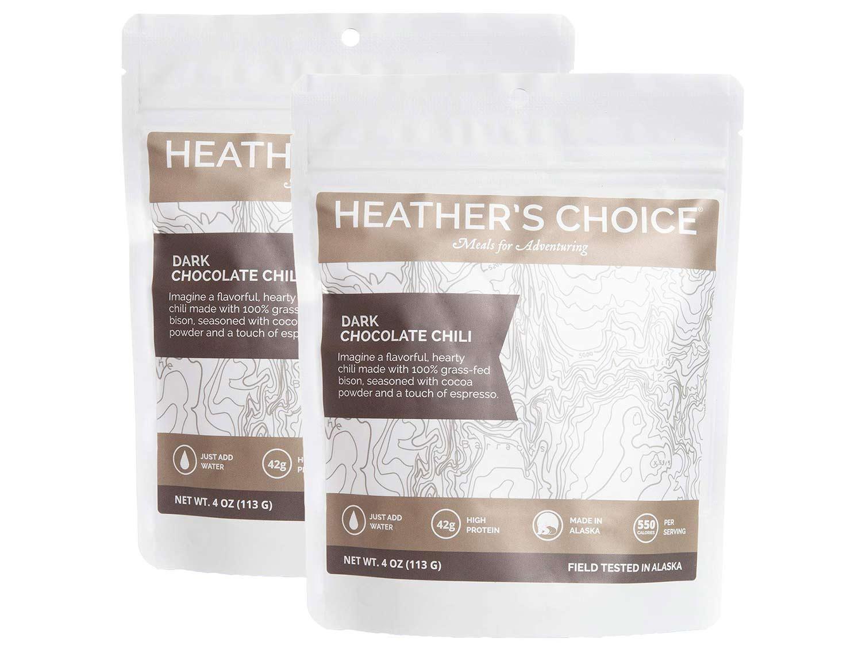 Heather's Choice Dark Chocolate Chili with Grass-fed Bison