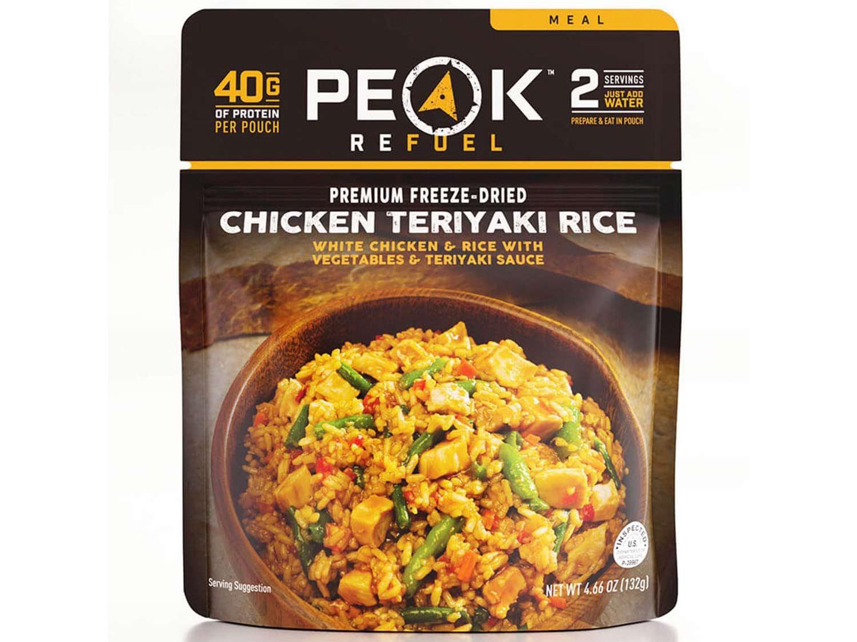 Peak Refuel Chicken Teriyaki Rice