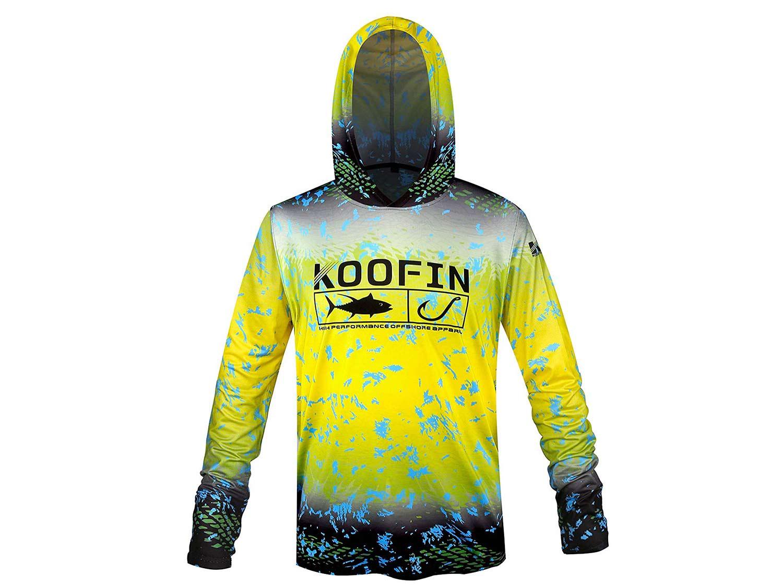koofin performance fishing hoodie
