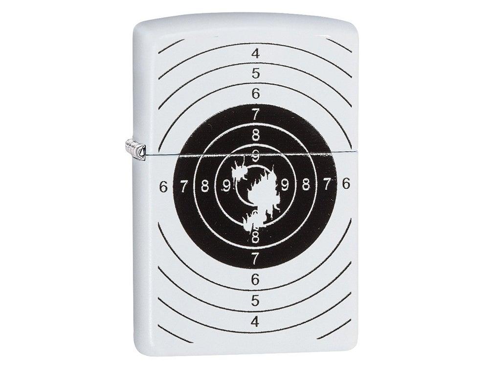 Bullseye target zippo