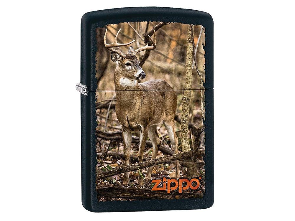 whitetail deer zippo