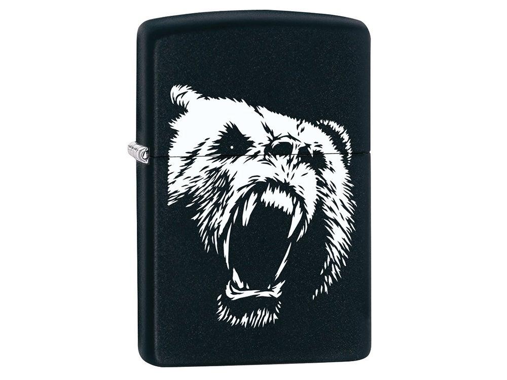 The Angry Griz zippo lighter