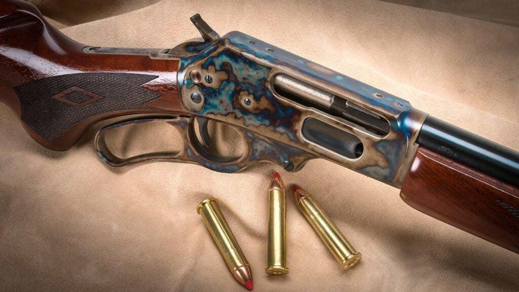 detail image of marlin 1895 rifle