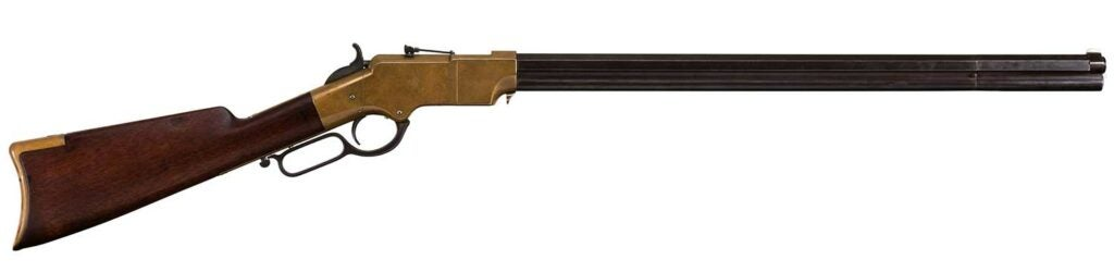 henry repeating arms 1863 rifle restoration
