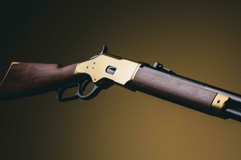 winchester 1866 lever action rifle