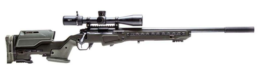 Vudoo Gun Works V-22 Apparition J. Allen 700 Short-Action Chassis rifle