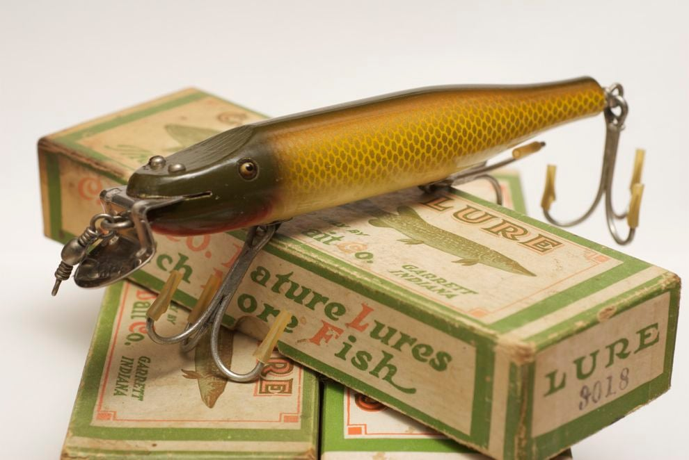 30 Antique Fishing Lures and Why They're Collectible