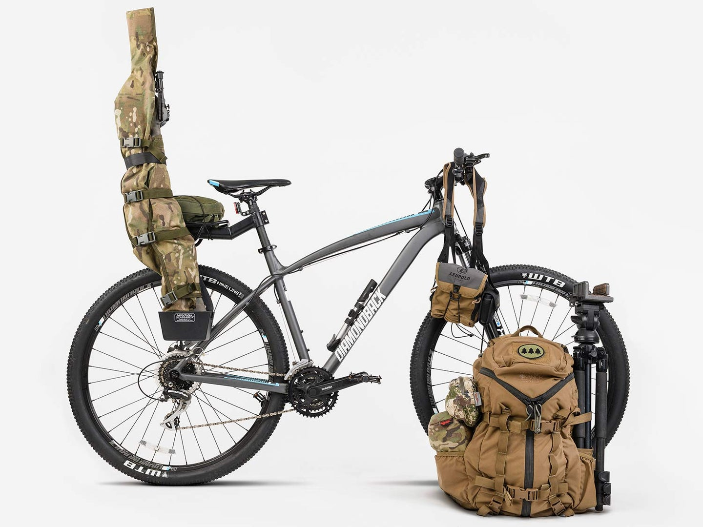 How to Rig a Mountain Bike for Hunting on Public Land