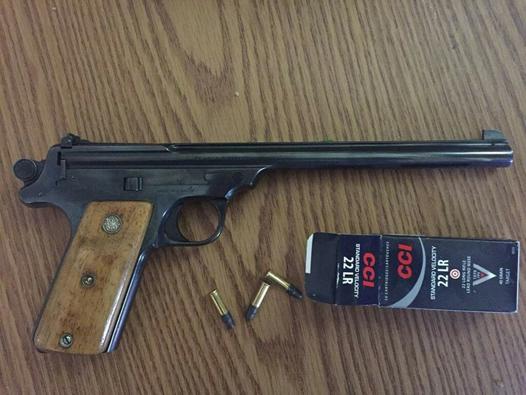 Smith & Wesson Straight Line Target Pistol