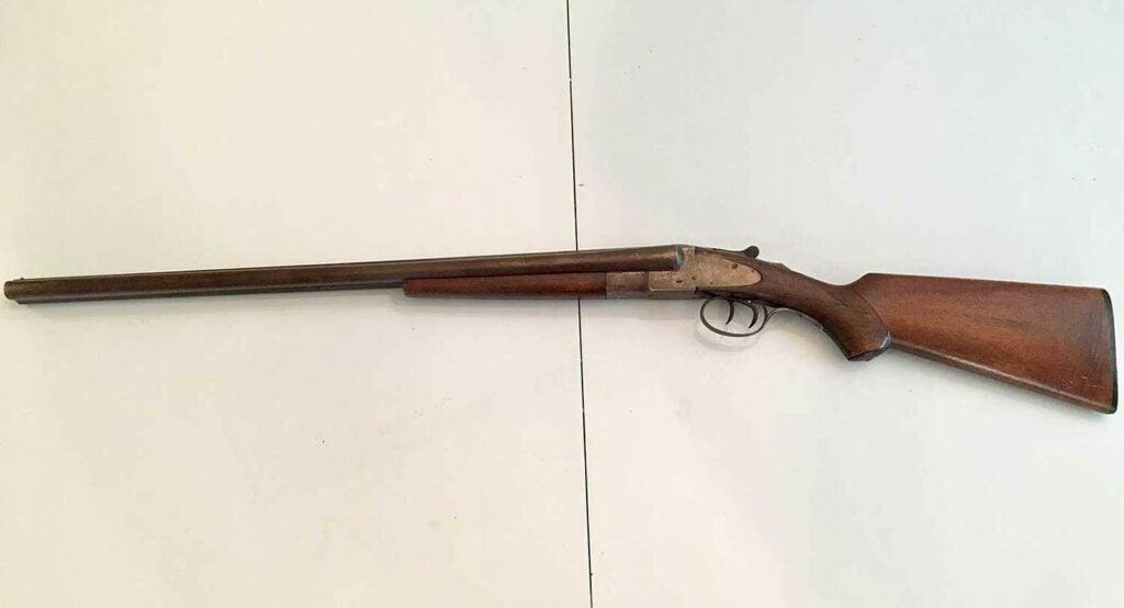 L.C. Smith Shotgun