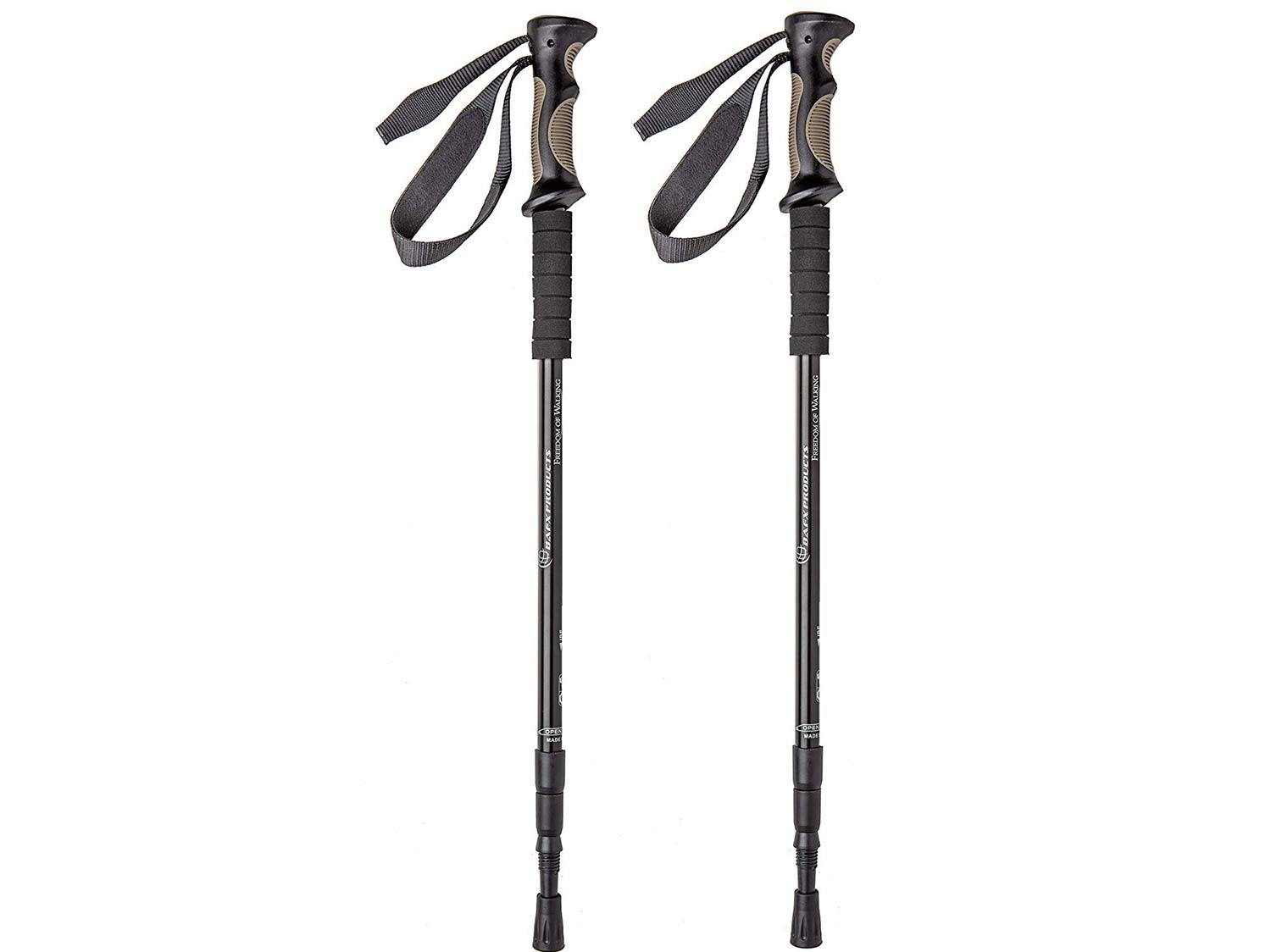 BAFX Products Adjustable Hiking Poles