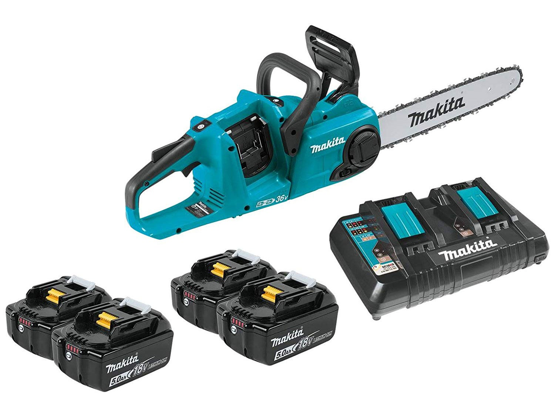 makita lithium ion brushless chainsaw