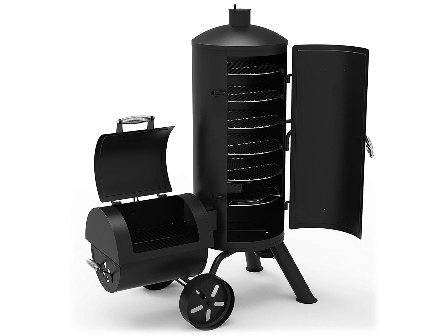 Dyna-Glo Signature Series Heavy-Duty Vertical Offset Charcoal Smoker & Grill