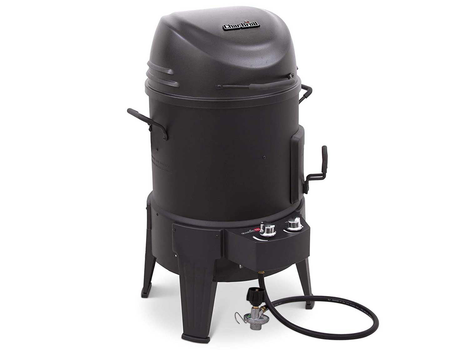char-broil the big easy infrared smoker roaster