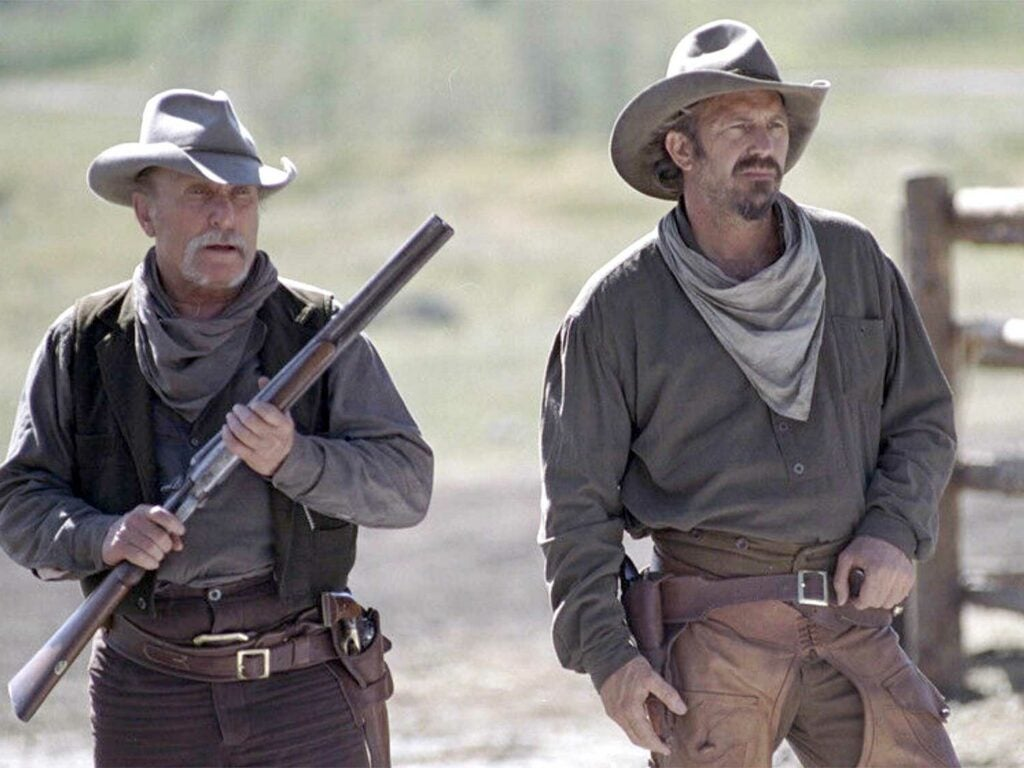 robert duvall and kevin costner in open range