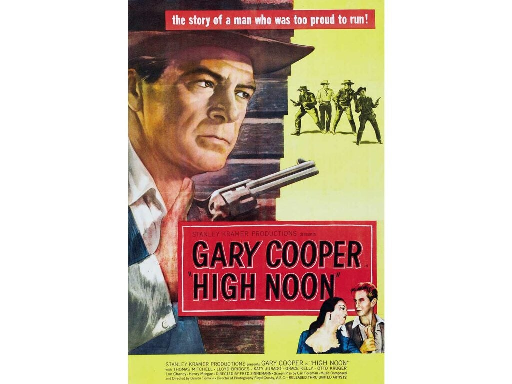 high noon movie cover