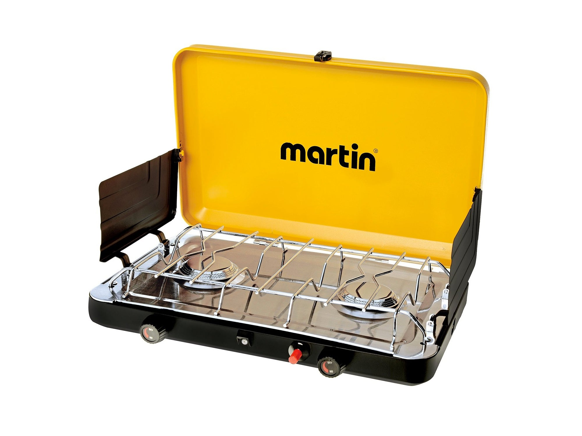 Martin gas burner grill