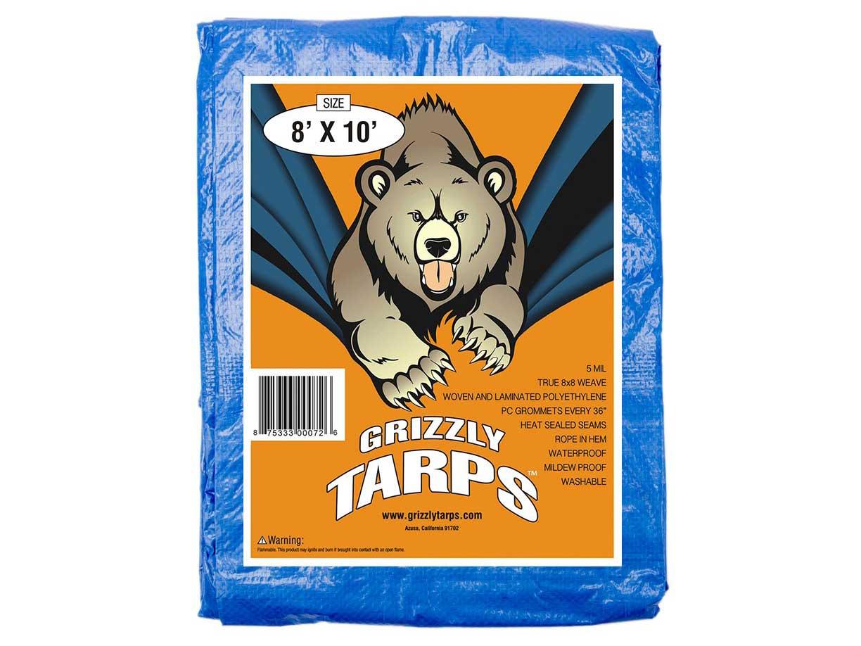 grizzly tarps ba