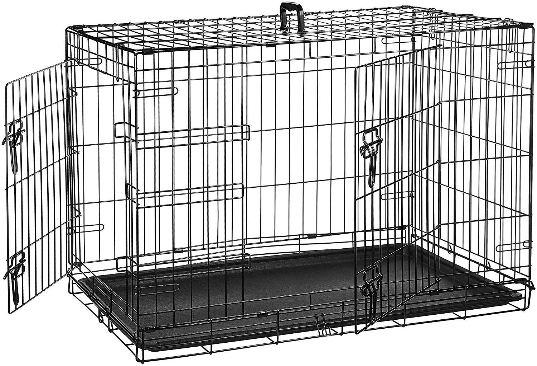 AmazonBasics single door dog crate